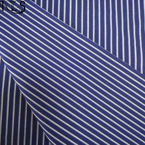 100% Cotton Poplin Woven Yarn Dyed Fabric for Shirts/Dress Rls40-12po