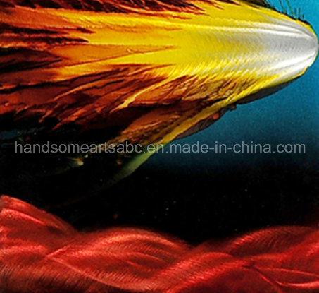 Original Design Colorful Oil Painging on Aluminum Plate - Power (CHB6015045)