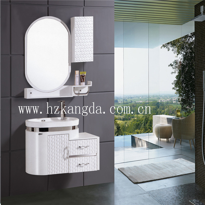 PVC Bathroom Cabinet/PVC Bathroom Vanity (KD-523)