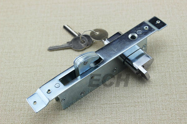 Stainless Steel Top and Bottom Mortise Lock (MLE013)