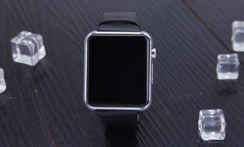 1.5inch IPS Ogs Screen 2.5D Arc Touch Panel Bluetoot Smart Watch Mobile Phone