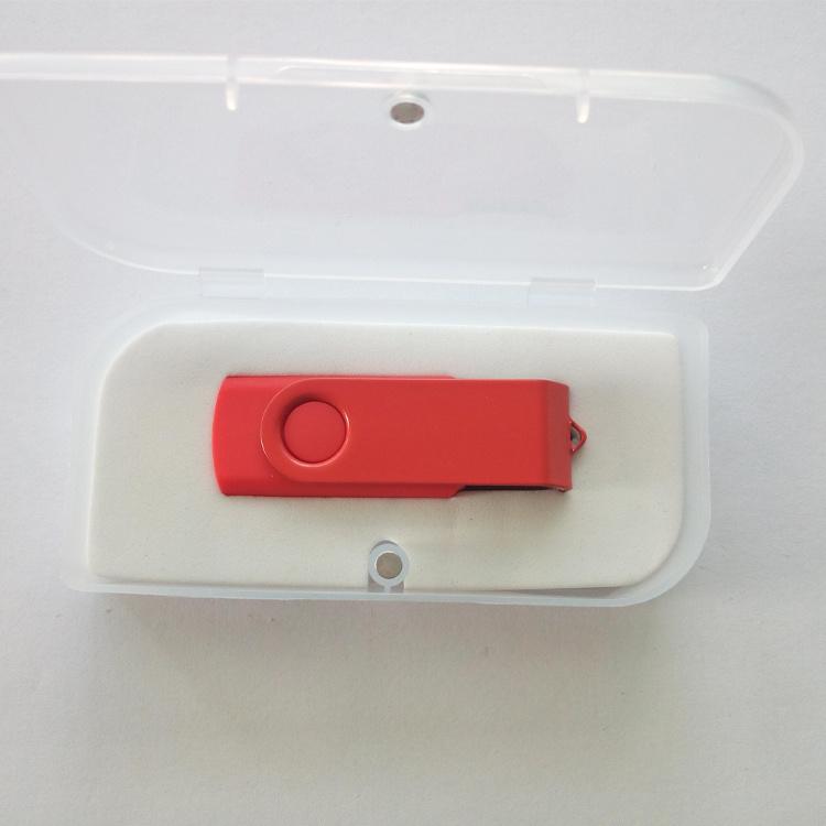 Red Swivel USB Flash drive 4GB 8GB 16GB