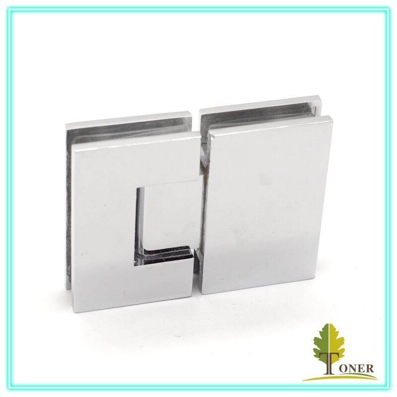 Straight Edge Square 180 Degree Shower Hinge/ Zinc Hinge