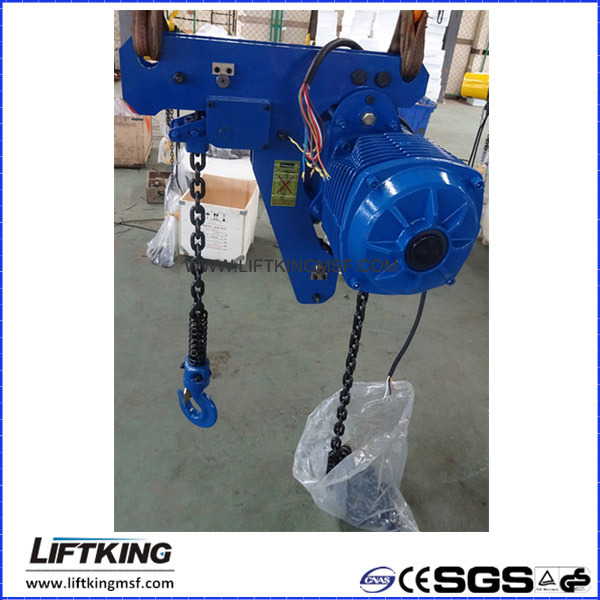 CE Approved 2t Ultra Low Headroom Electric Chain Hoist (ECH 02-01LS)