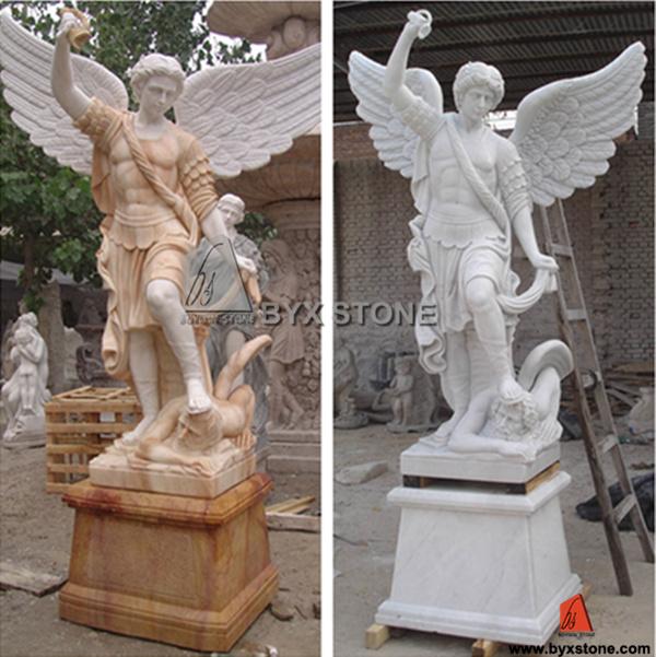 Natural Granite Carved Stone Sculpture for Garden Ornament
