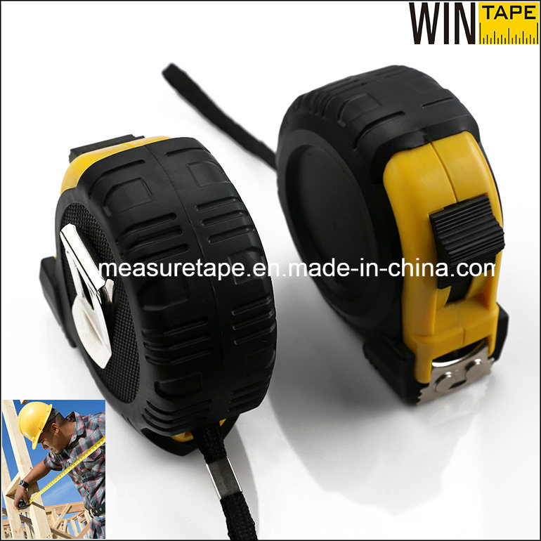 China Supply Construction Tools 5m Heavy Duty Steel Measuring Tape