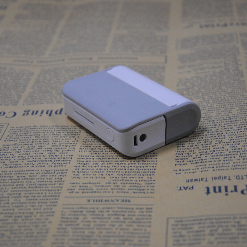 Fashionable Travelling Charger for Smartphone with a Mirror