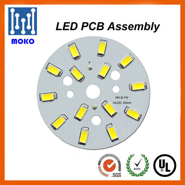 Single Layer SMD2835 Aluminum LED PCB for Bulb Light