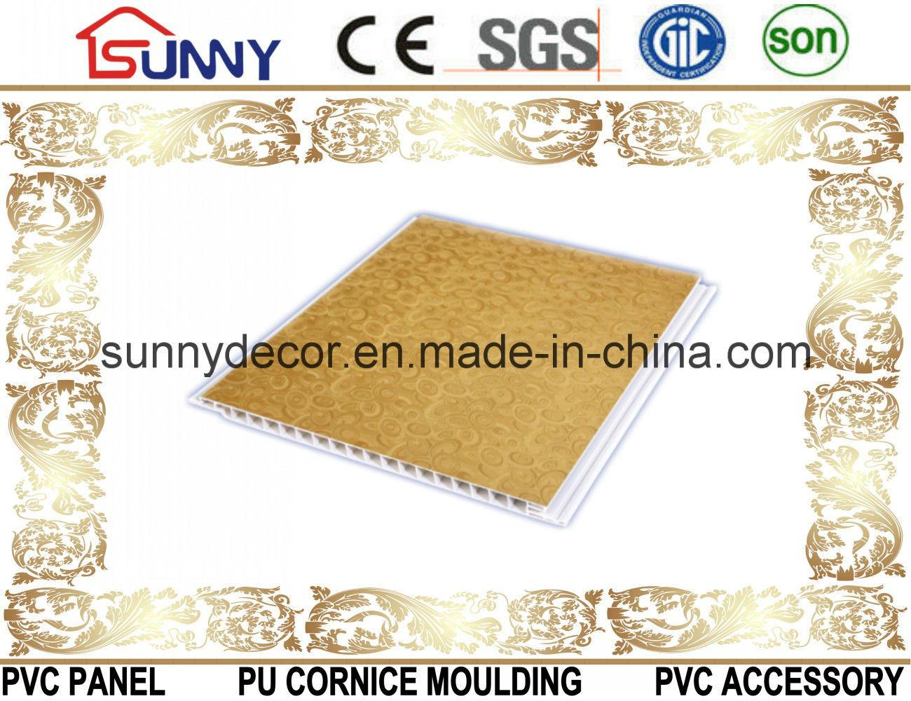 Laminated Interior PVC Wall Panel & PVC Ceiling Board
