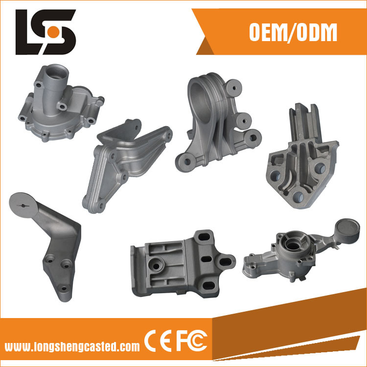 Various Motorcycle and Auto Parts by Die Casting Aluminum