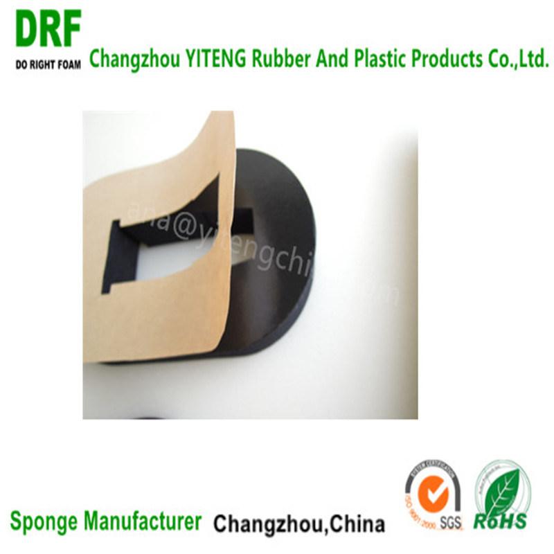Waterproof Closed Cell High Density Cr Seal Strip Rubber Foam Chloroprene Foam