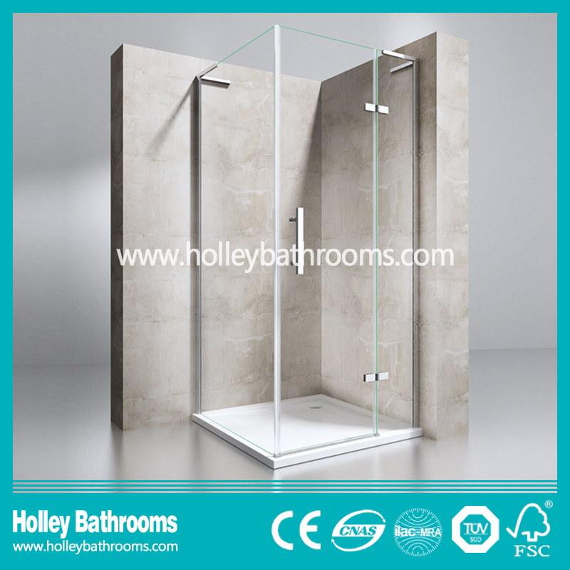 Stainless Steel Hardware Aluminum Waterproof Bar Tempered Glass Shower Door-Se707c