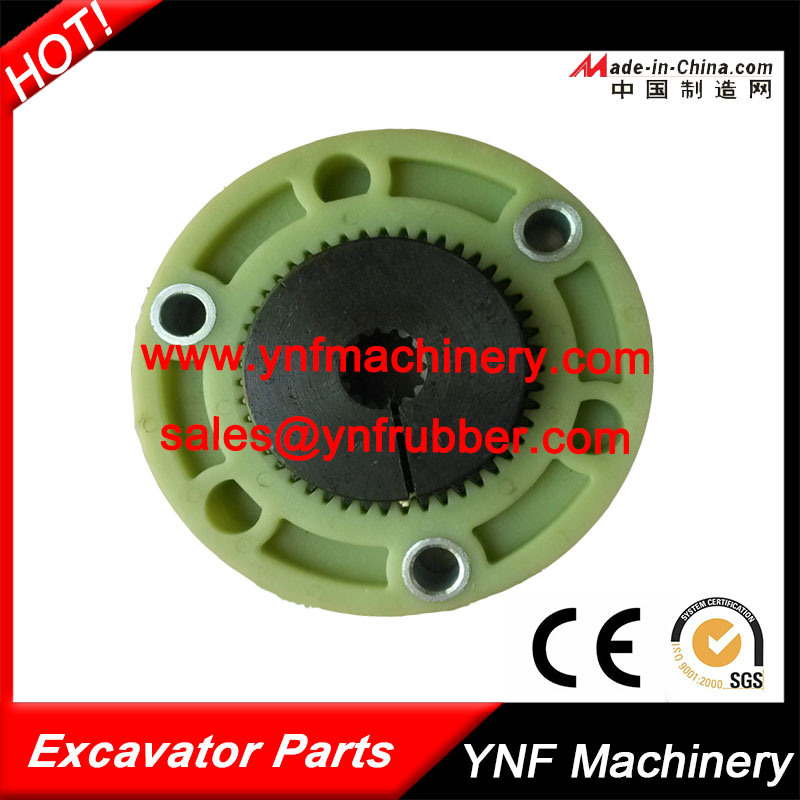 Hydraulic Pump Parts Flange Coupling for Excavator Ktr Flange Coupling