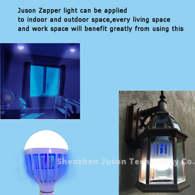 2016 New Design Bug Zapper Flying Insects Killer Lighted Lures