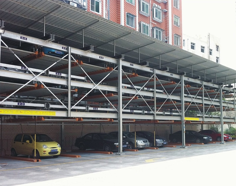 Puzzle Type Automatic Parking System
