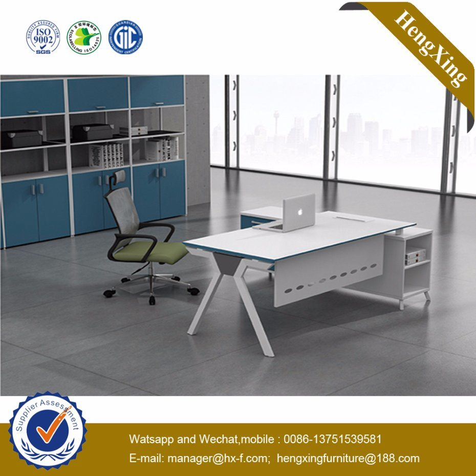 L Shape Office Table Modern Executive Office Desk (UL-NM034)