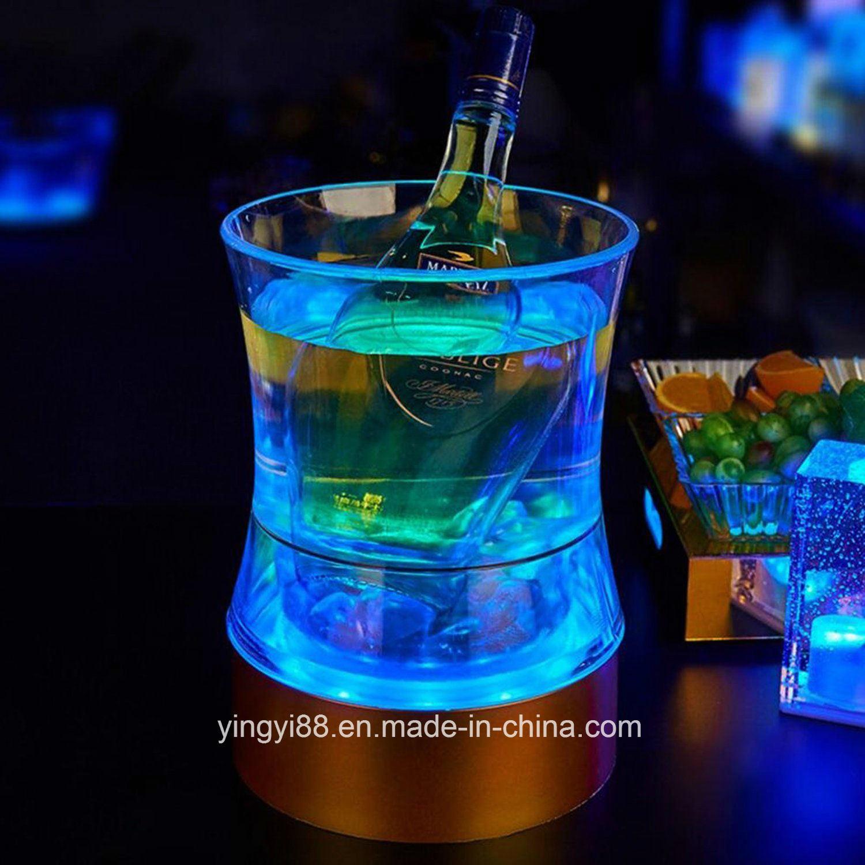New Custom LED Acrylic Ice Bucket