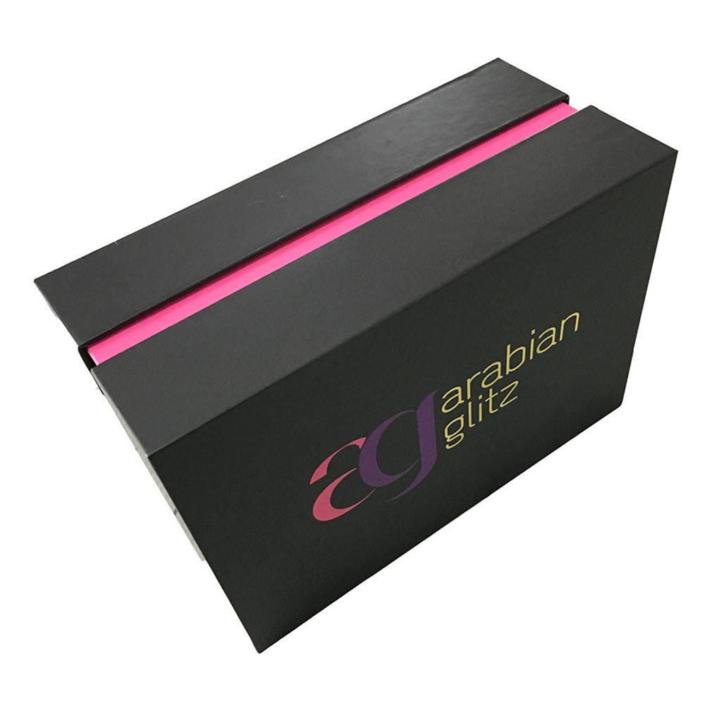 Hot Gold Foil Stamping Cardboard Cosmetics Packaging Box
