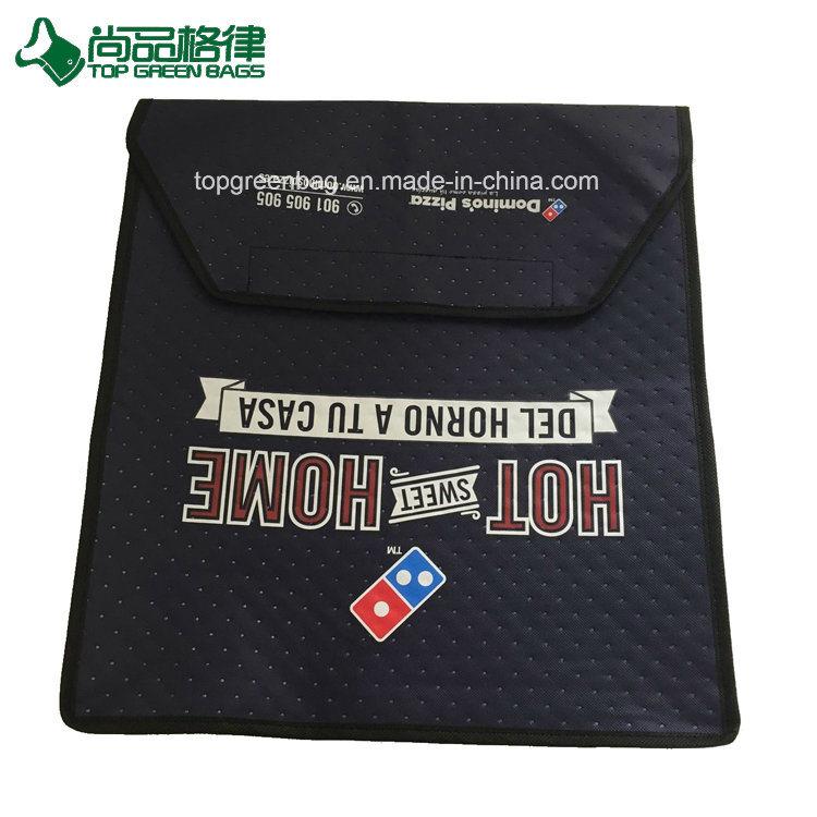 Wholesale Custom Non Woven Pizza Bag Hot Pizza Cooler Bag Tote