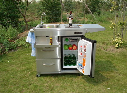 China Outdoor Kitchen Cart Pg Ok001 China Gas Grill