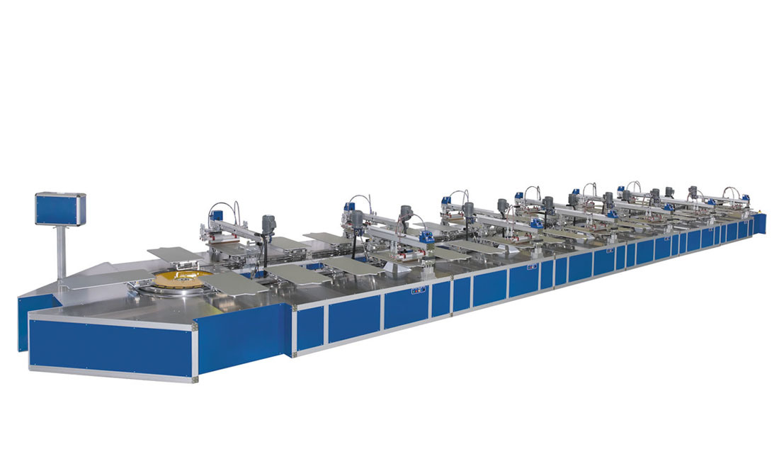 screen printing machine automatic