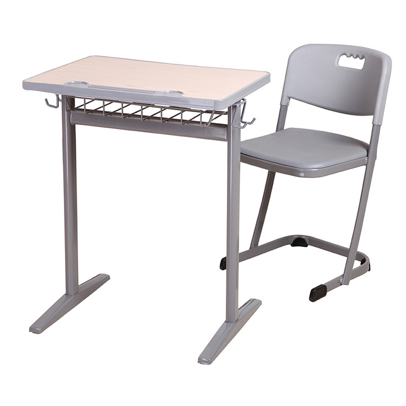 New Type Wooden Metal School Use Student Desk and Chair