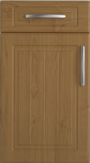 China 16mm Mdf Board Thermo Foil Kitchen Cabinet Door