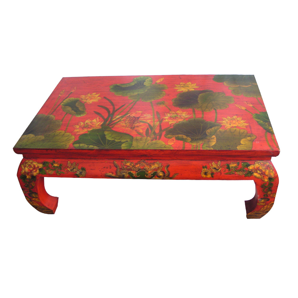 China Painting Coffee Table Bg 045 China Painting Coffee Table Wooden Furniture