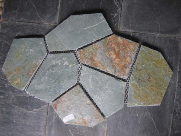 Stone Pavers Slate : China flagstone slate paver flagstones