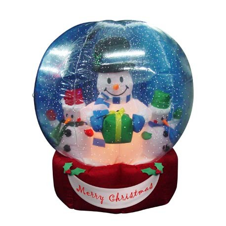 Ft christmas inflatables snow globe 25904 4 china christmas