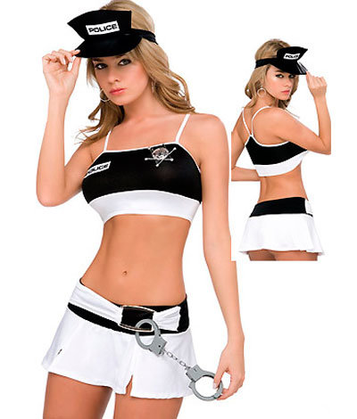 Sexy Lingerie Sexy, Erotic Underwear Set Police Costume (F1321)