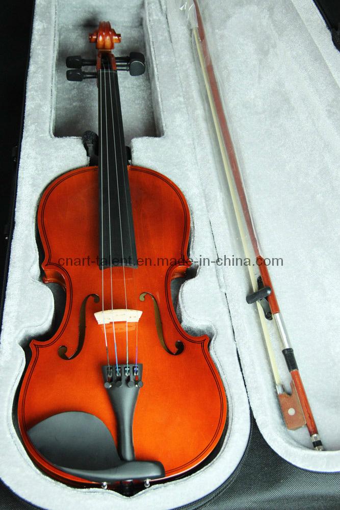 1/8-4/4 Plywood Student Best Selling Violin (N-V01)