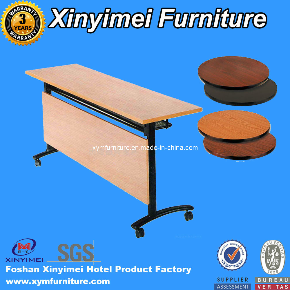 Folding Round Banquet Wedding Hotel Table (XYM-T01)