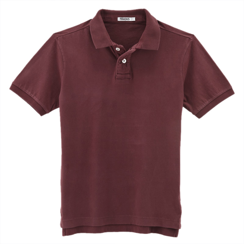 china plain prewashed cotton polo shirt china polo shirt