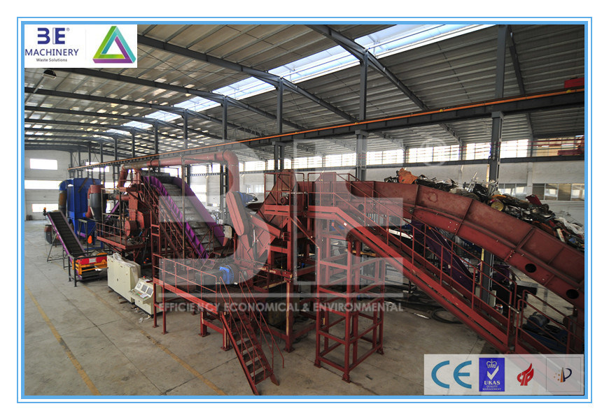 Scrap Metal Recycling Line/ Metal Crusher/ Metal Recycling Machine