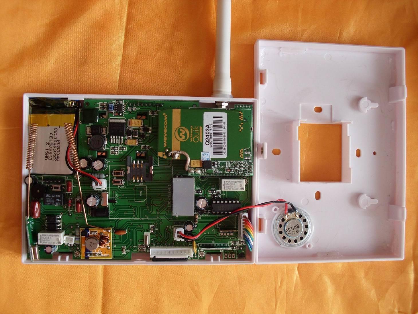 Home Burglar PSTN GSM Alarm System with Apps Remote Control Function (ES-2014GSM)