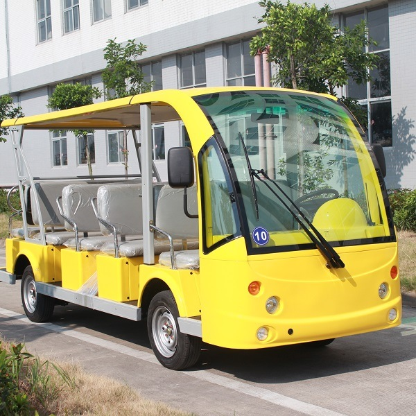 Battery Power Electric 14 Seater Tourist Passenger Car (DN-14)
