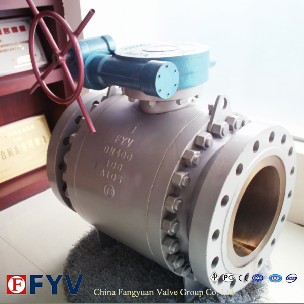 Gear Three-Piece Fixed Ball Valve