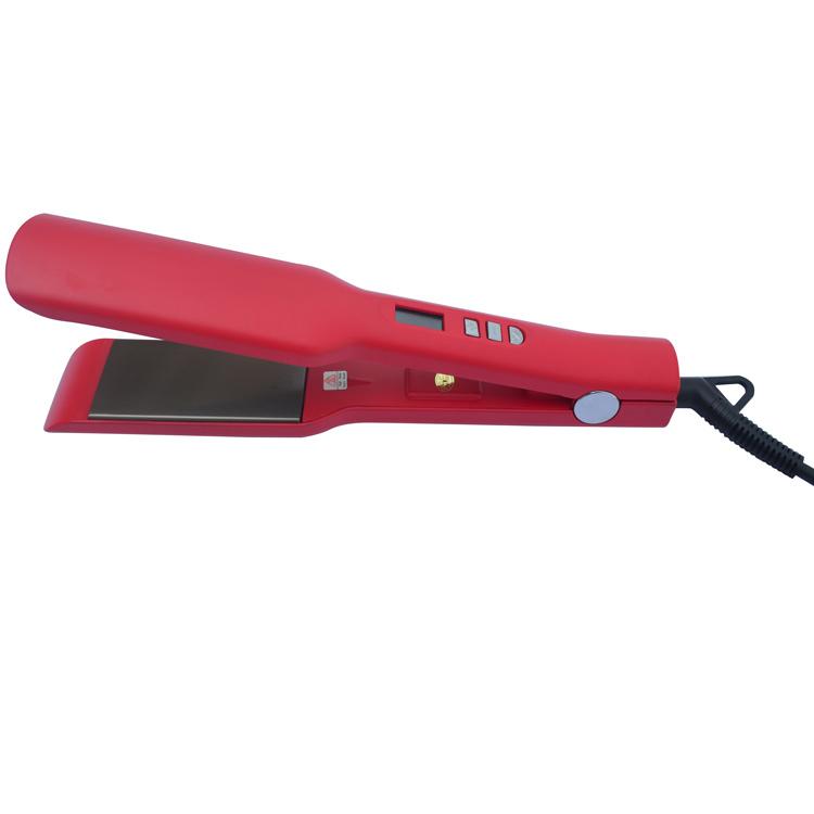 Professional Hair Flat Iron Straightener Salon Machine PTC Heater Hair Straightener