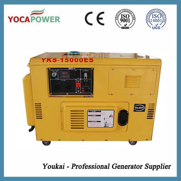 10kVA Air-Cooled Diesel Engine Generator Power Generator Set