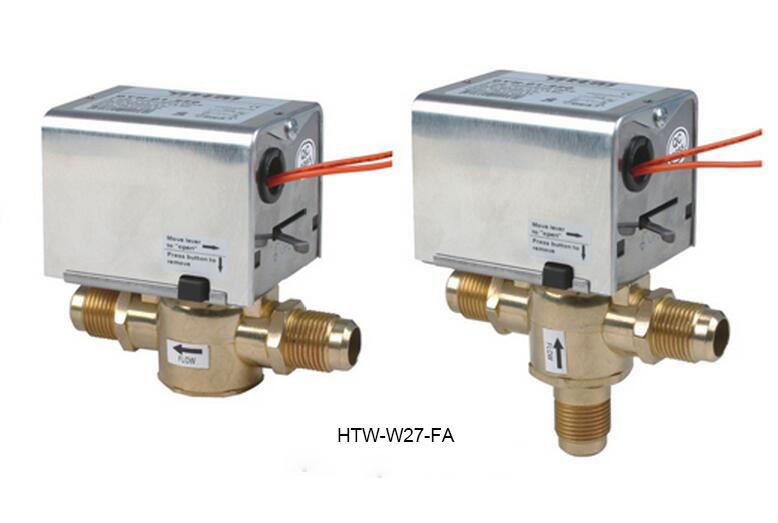 2 Port 3 Way Hydronic Motorised Heating Zone Valves (HTW-W27-F)