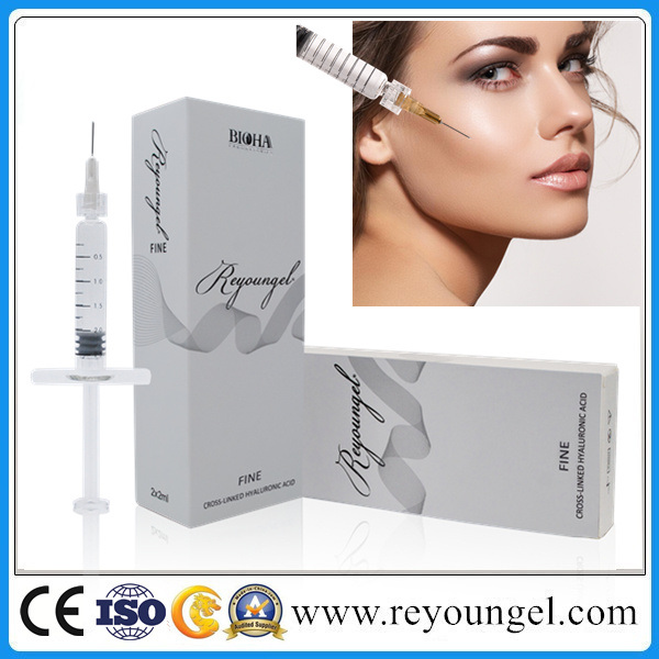 Hyaluronic Acid Dermal Filler with CE Certificates, Cross-Linked Injectable Face Use Filler