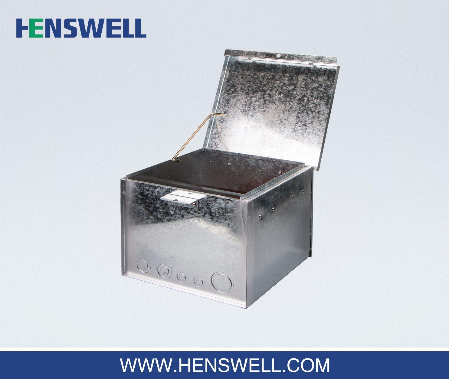 Metal Weatherproof Meter Box for Australia Temporary Power Sites
