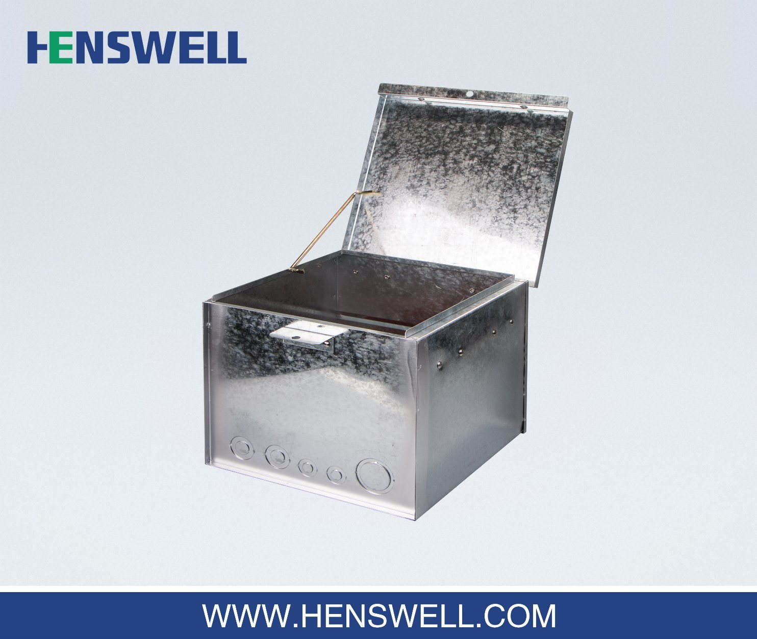 Weatherproof Metal Meter Box for Temporary Power Sites