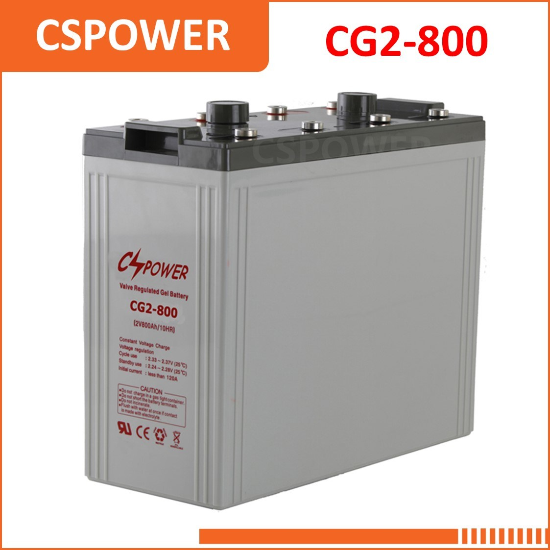 China Factory 2V800ah Maintenance Free Gel Battery - Solar Energy System