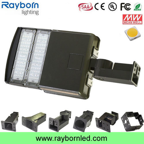 100W Slip Bracket LED Area Shoebox Light for Parking Lot