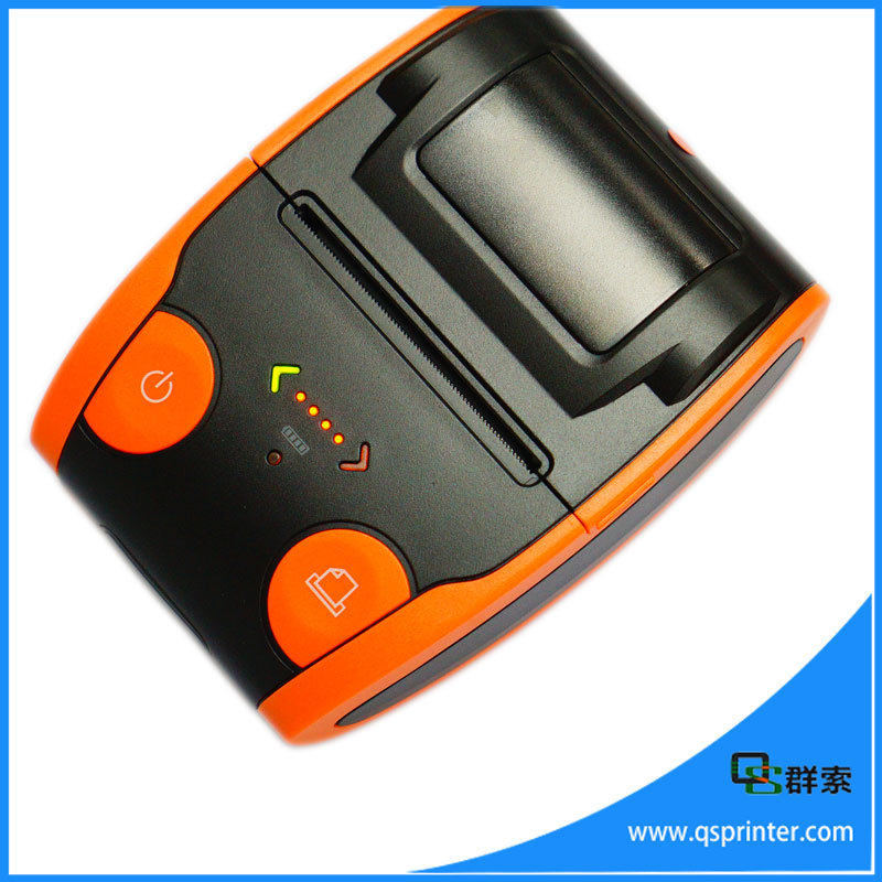 Mini Portable Thermal Bluetooth Mobile Barcode Printer for Android and Ios