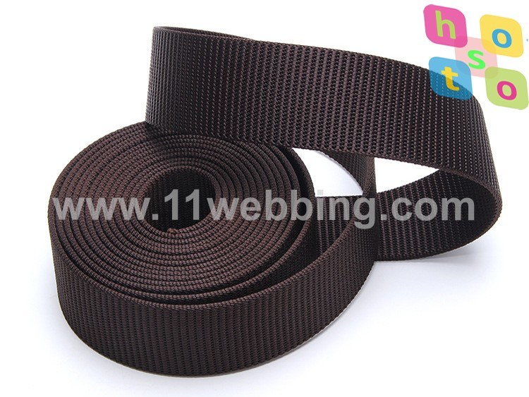 High Tenacity 40mm Black Tank Nylon Webbing for Military Belt