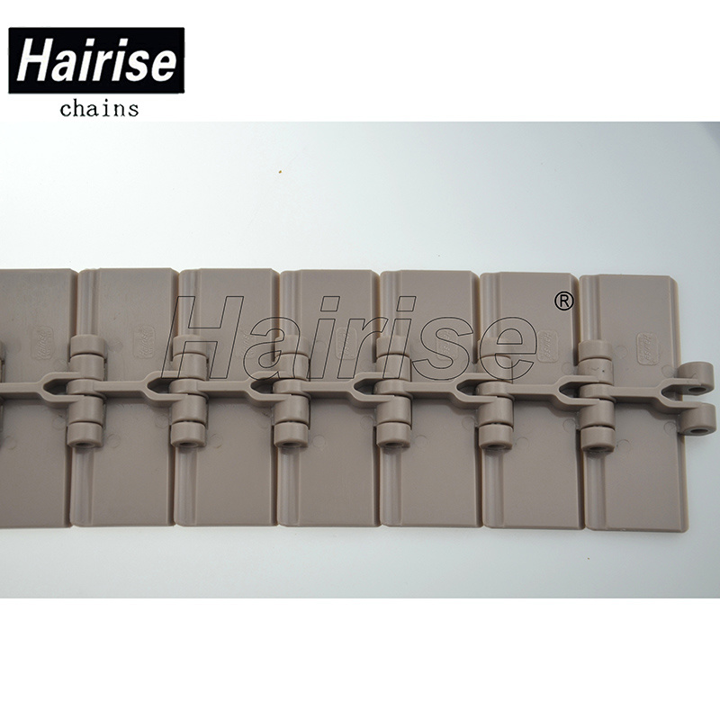Flexible Flat Top Single Hinge Plastic Conveyor Chain (820-k325)