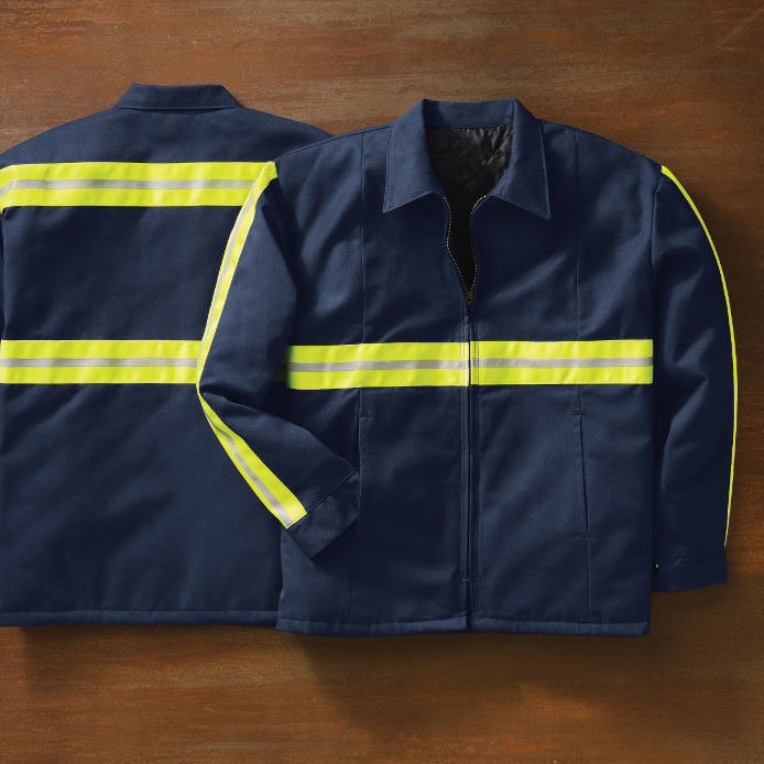 OEM Technician Enhanced High Visibility Reflective Cotton Work Clothing